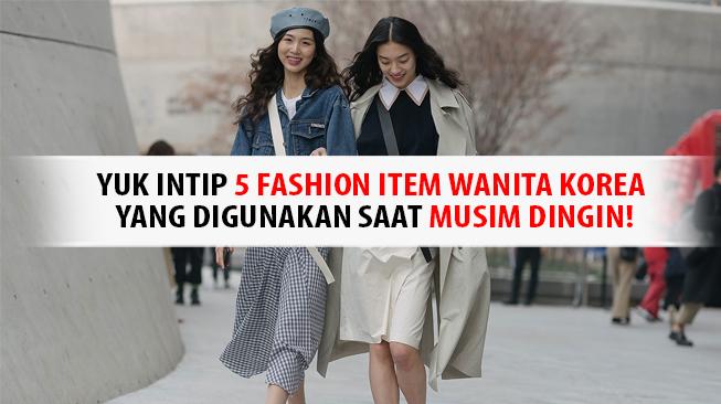 Fashion korea Musim Dingin