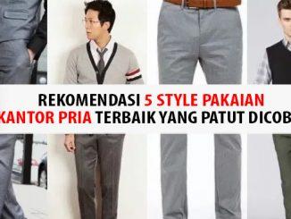 Style Pakaian Kantor Pria